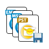 Save Recovered Outlook PST to MSG, EML and PST